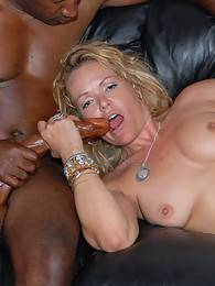 This pretty secretary called us for a black cock delivery and you bet your ass she got it in spades! Two piping hot ebony members probed that mature ass as she stretched wide lovin' every inch! Watch as the Brothas defile another pretty ass in this one!