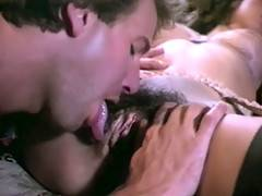 Classy seventies lady with an hairy pussy gets fucked hard
