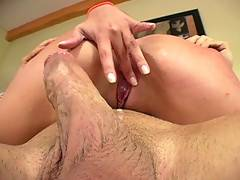 Busty Lorena Drips A Thick Creampie From Her Pink Pussy