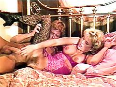 Hairy seventies hottie enjoys a good hard pussy pounding